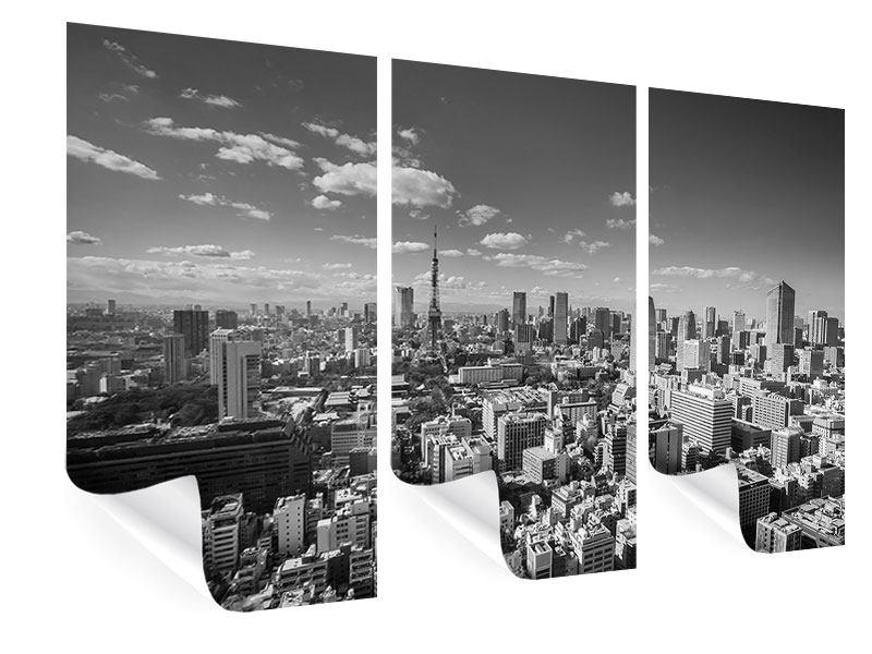 Poster 3-teilig Tokio
