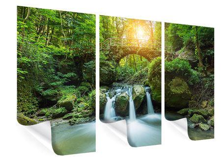 Poster 3-teilig Wasserspiegelungen