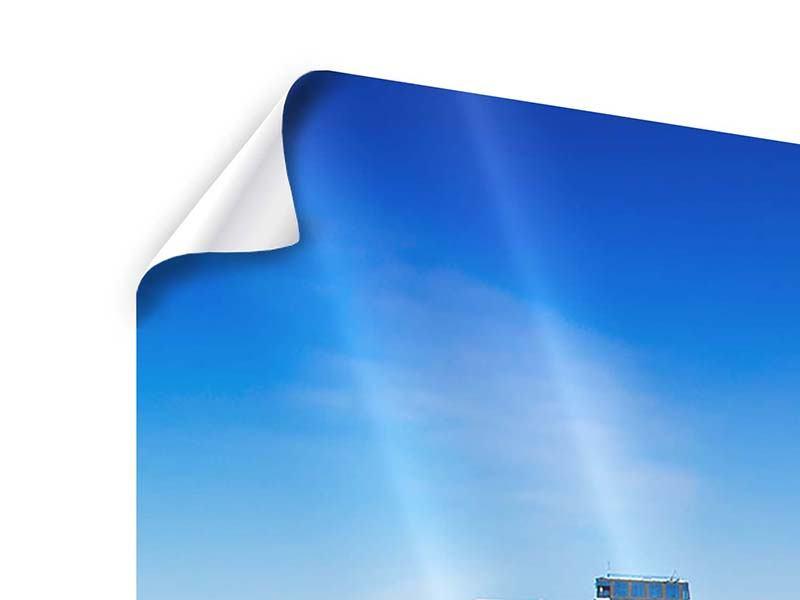 Poster 3-teilig Skyline Oslo