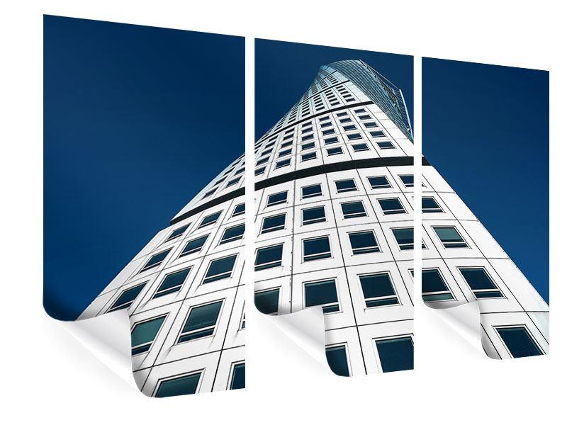 Poster 3-teilig Meisterstück Wolkenkratzer