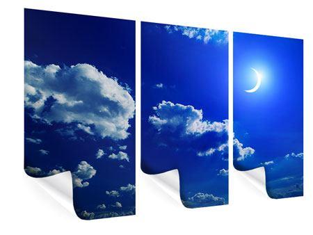 Poster 3-teilig Der Mond