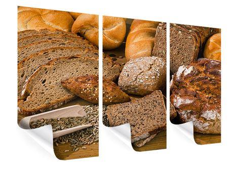 Poster 3-teilig Brotarten