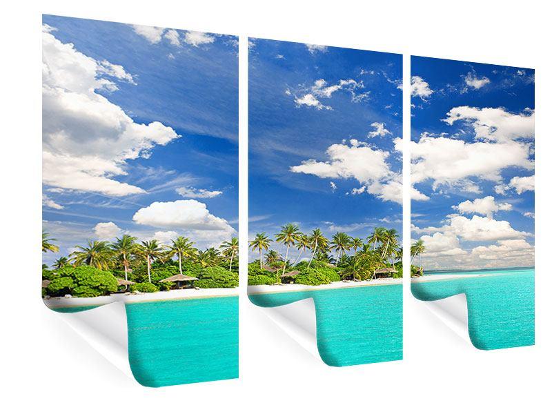 Poster 3-teilig Meine Insel