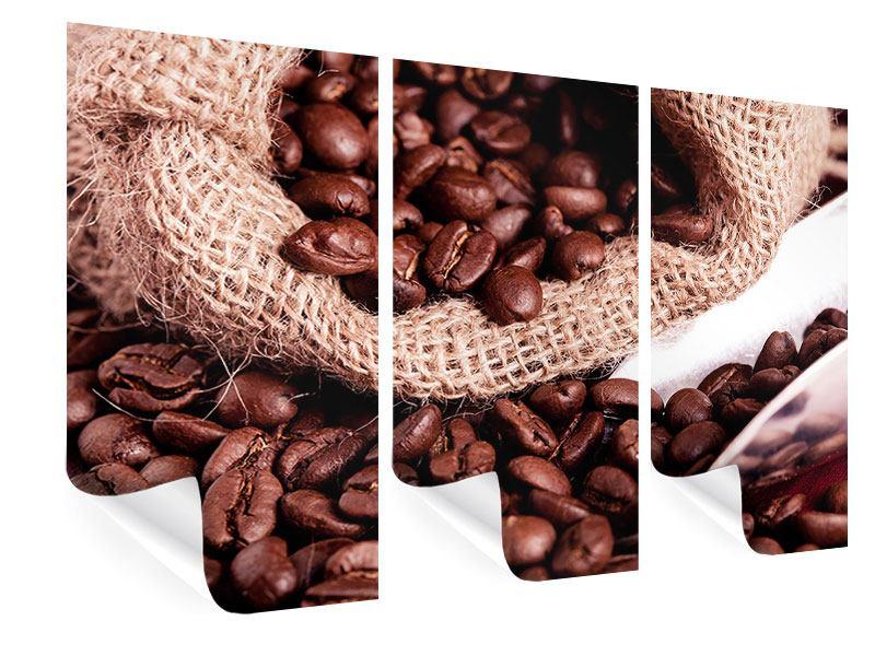 Poster 3-teilig XXL Kaffeebohnen