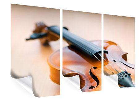 Poster 3-teilig Geige