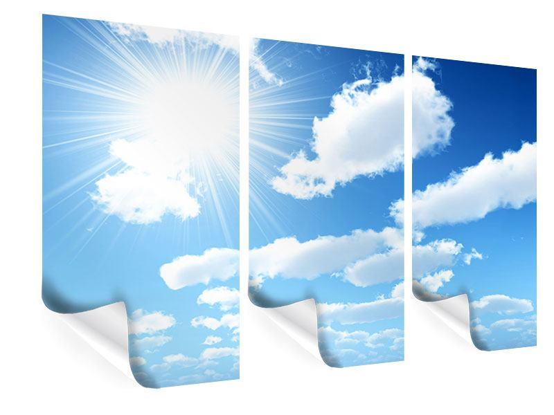 Poster 3-teilig Am Himmel