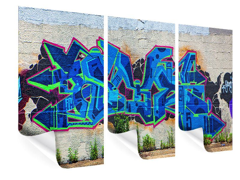 Poster 3-teilig Graffiti NYC