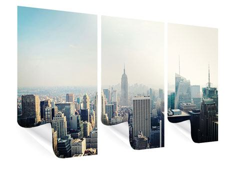 Poster 3-teilig NYC