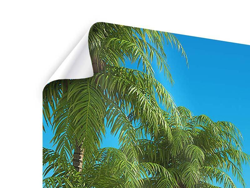 Poster 3-teilig Strandparadies