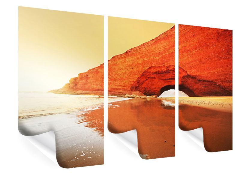 Poster 3-teilig Wasserspiegelung