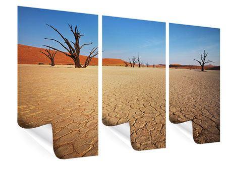 Poster 3-teilig Wüste