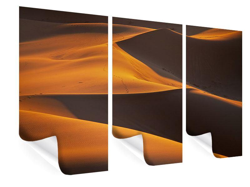 Poster 3-teilig Wüstensand