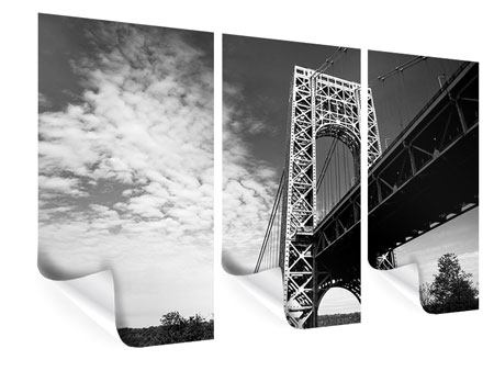 Poster 3-teilig Georg-Washington-Bridge