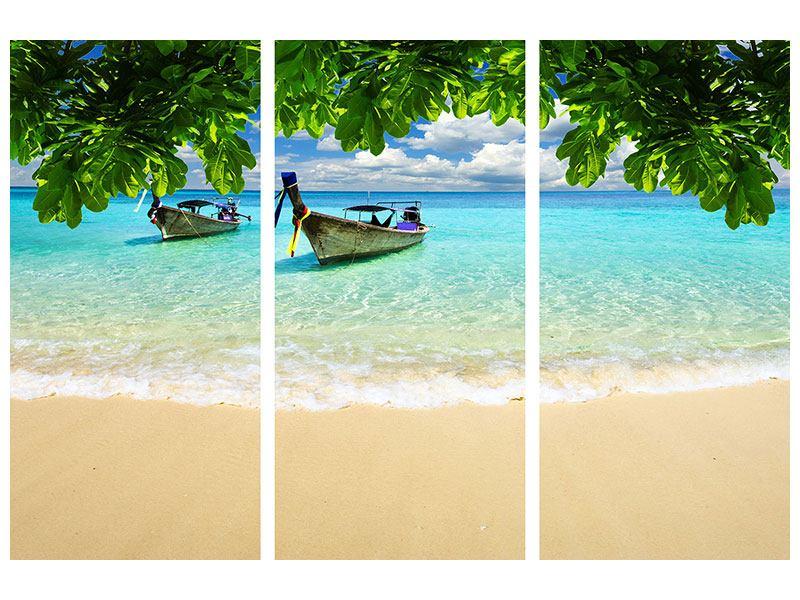 Poster 3-teilig Ein Blick auf das Meer