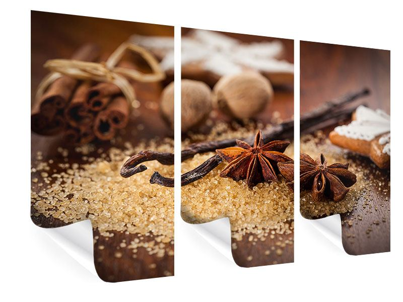 3 Piece Poster Christmas Spices