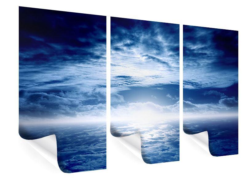 Poster 3-teilig Mystischer Himmel
