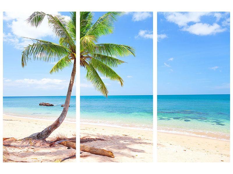 Poster 3-teilig Die eigene Insel