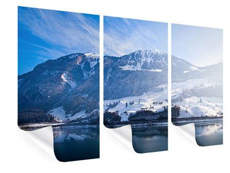 Poster 3-teilig Winterwunderland