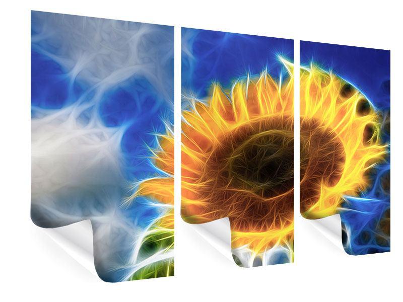 Poster 3-teilig Der Sonne entgegen