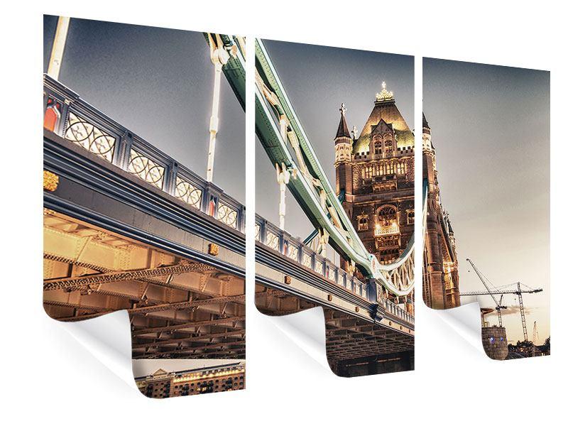 Poster 3-teilig Tower Bridge XXL