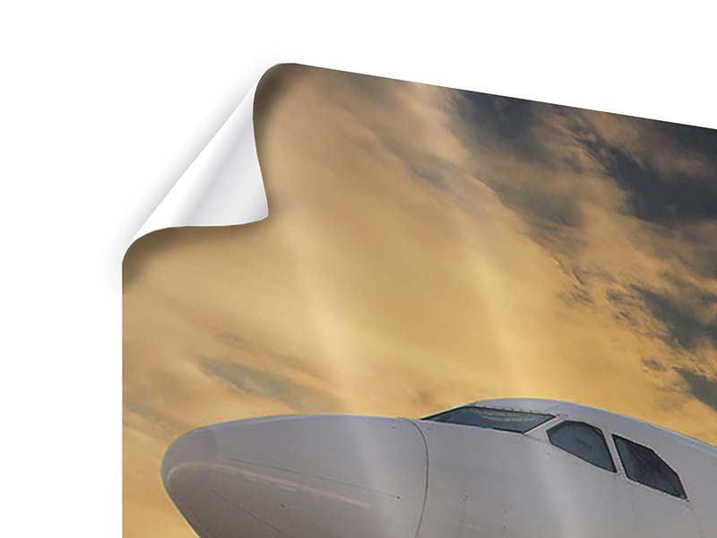 Poster 3-teilig Jet