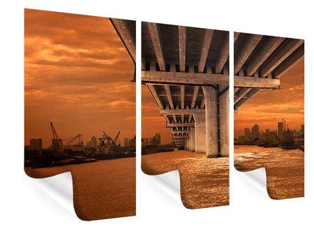 Poster 3-teilig Die Brücke