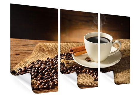 Poster 3-teilig Kaffeepause