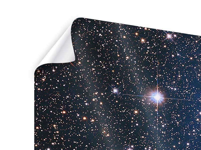 Poster 3-teilig Sternenhimmel
