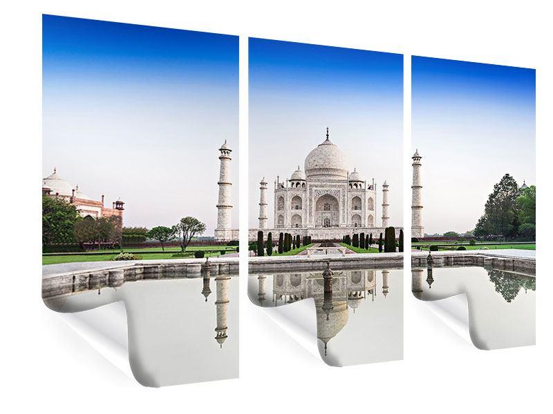 Poster 3-teilig Taj Mahal