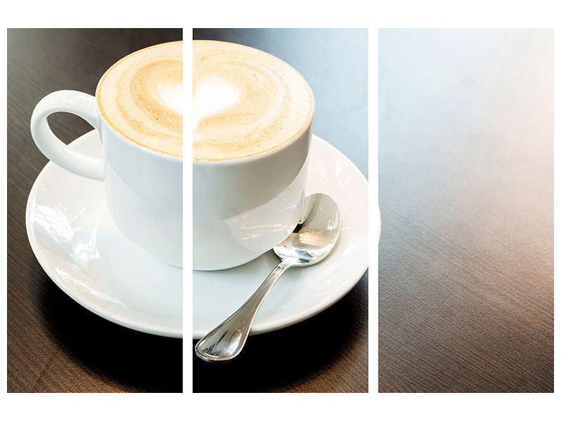 Poster 3-teilig Lieblingskaffee