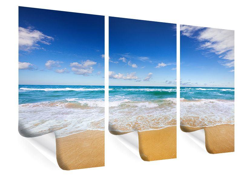 Poster 3-teilig Die Gezeiten und das Meer