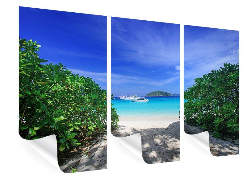 Poster 3-teilig Similan-Inseln