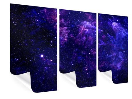 Poster 3-teilig Ein Himmel voll Sterne