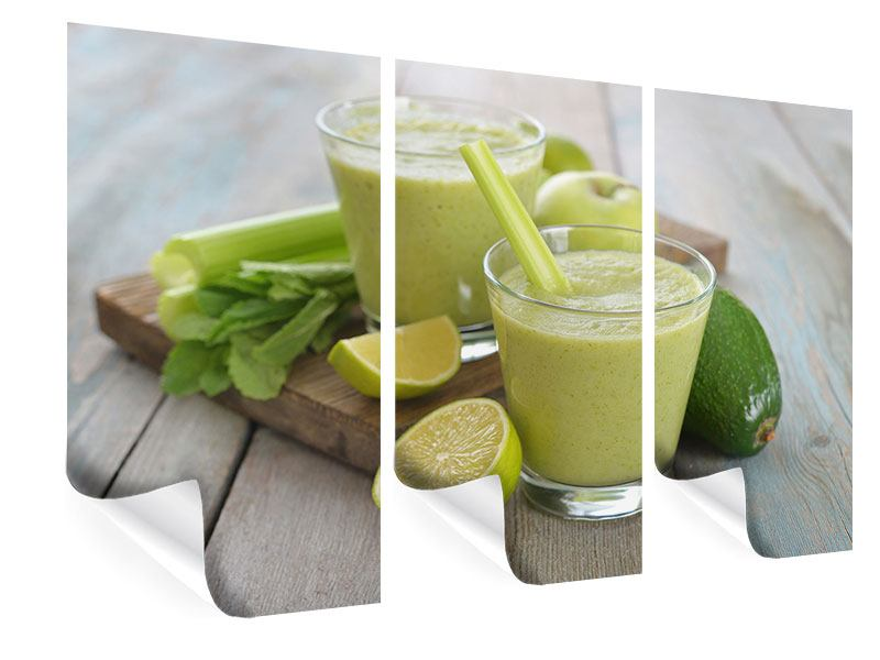 Poster 3-teilig Smoothie