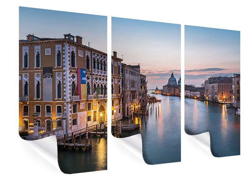Poster 3-teilig Romantisches Venedig