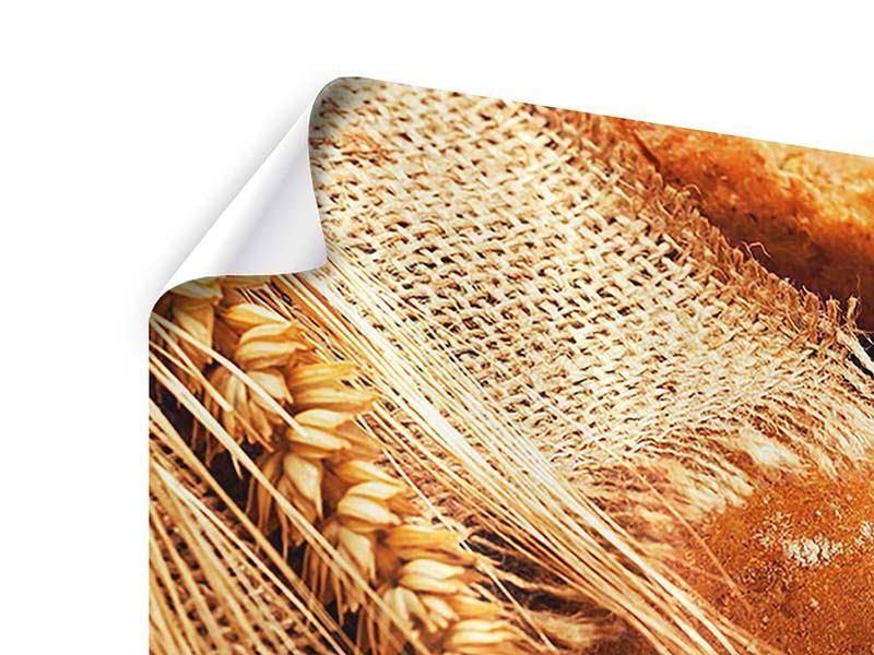 Poster 3-teilig Frische Brote