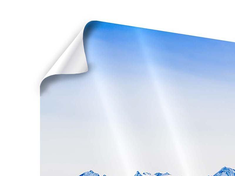 Panorama Poster 3-teilig Die Schweizer Alpen