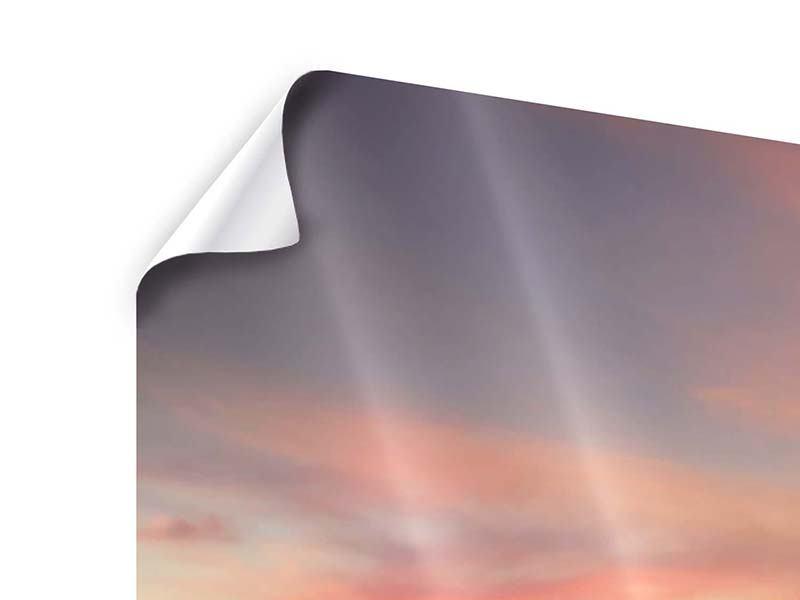 Panorama Poster 3-teilig Paradiesische Brücke