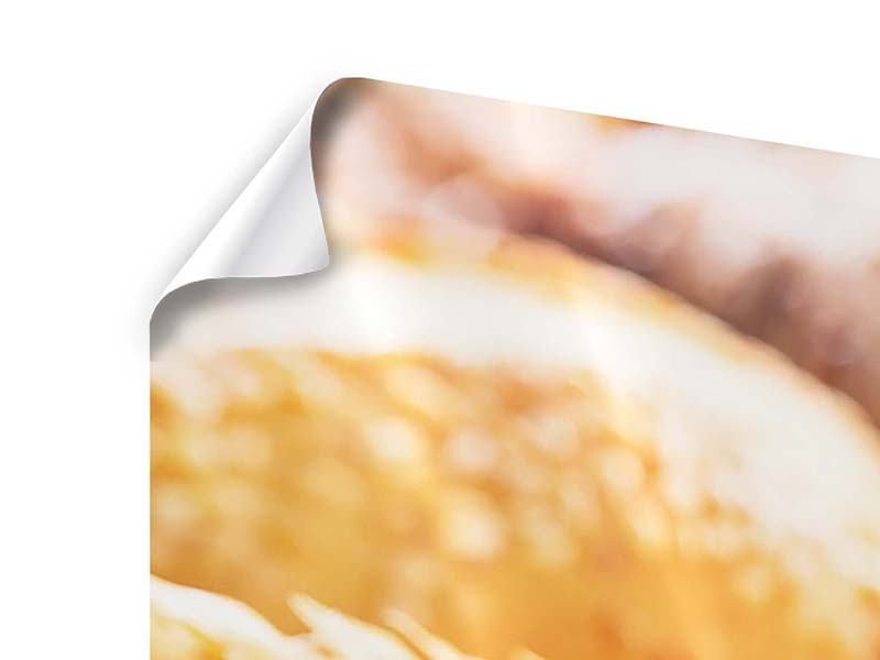 Panorama Poster 3-teilig Brötchen