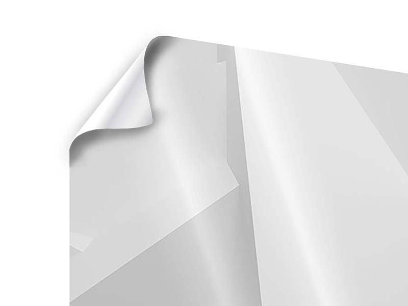 Panorama Poster 3-teilig 3D-Raster
