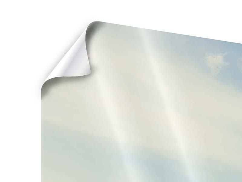 Panorama Poster 3-teilig Bergromantik