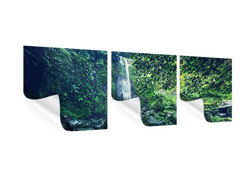 Panorama Poster 3-teilig Natur