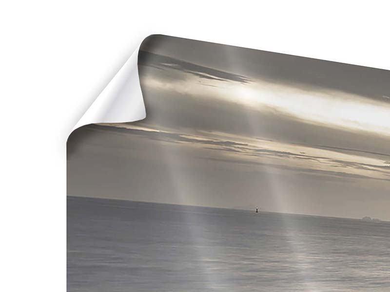 Panorama Poster 3-teilig Das Meer und die Träne