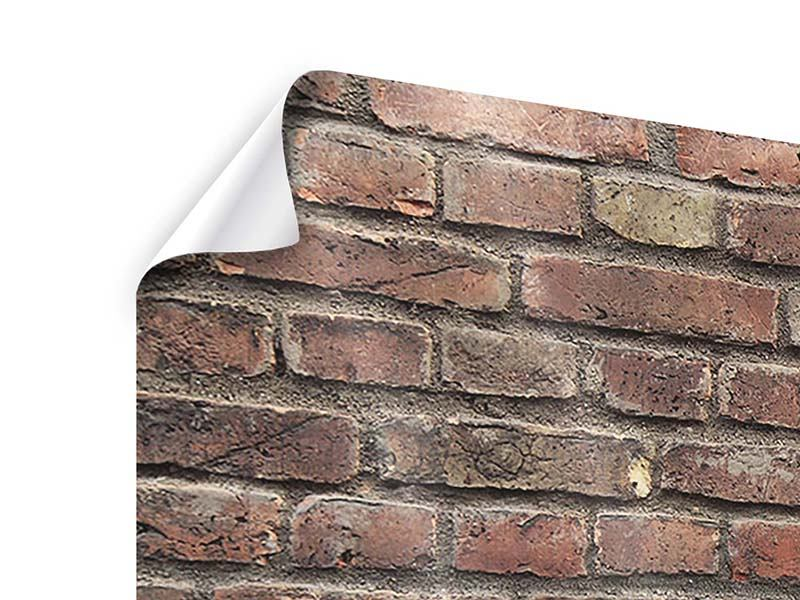 Panorama Poster 3-teilig Brick Wall