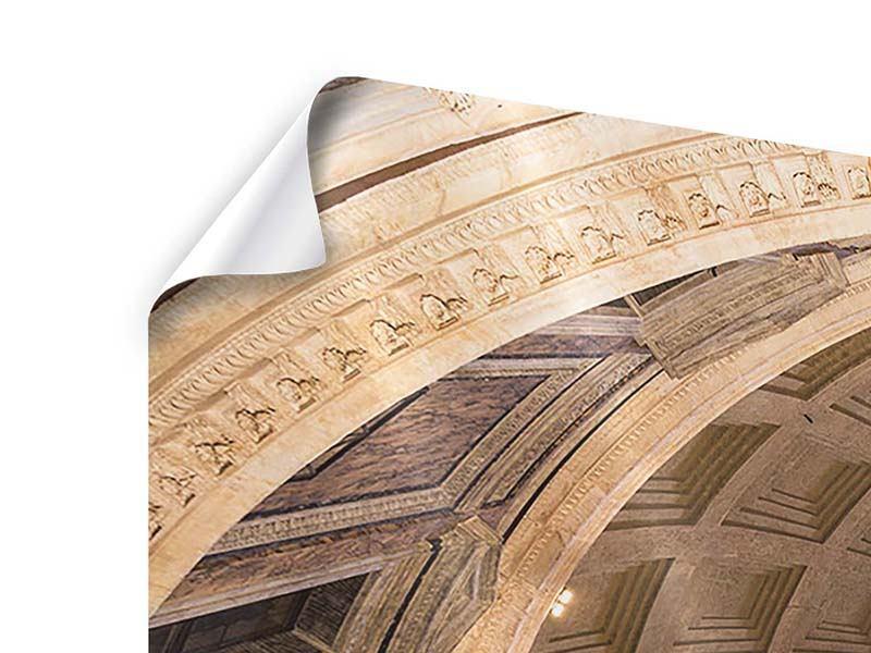 Panorama Poster 3-teilig Petersdom