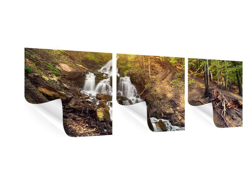 Panorama Poster 3-teilig Naturschönheit