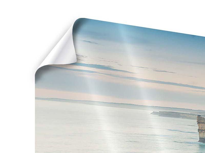 Panorama Poster 3-teilig Felsklippen