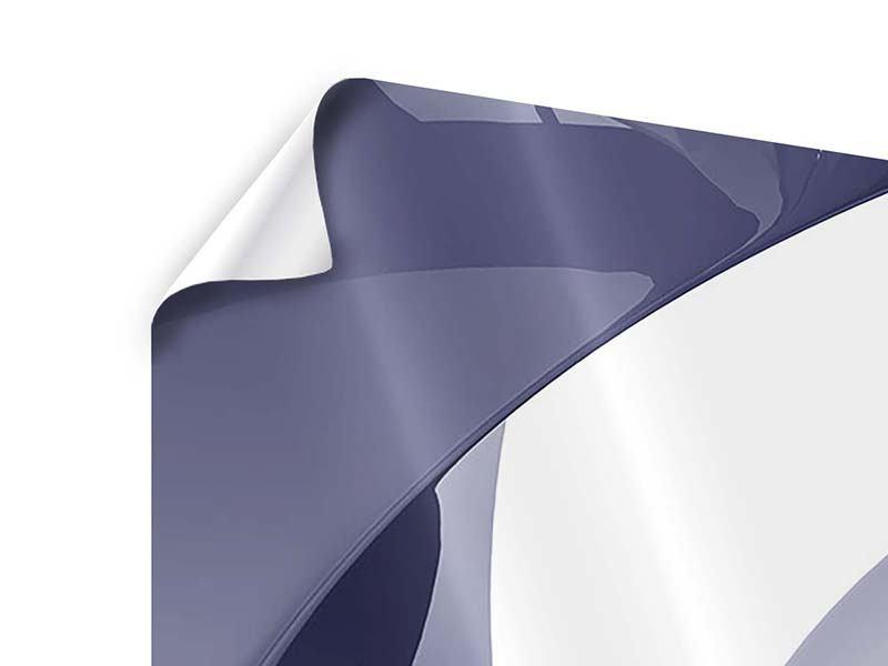 Panorama Poster 3-teilig Abstrakte Schwingungen