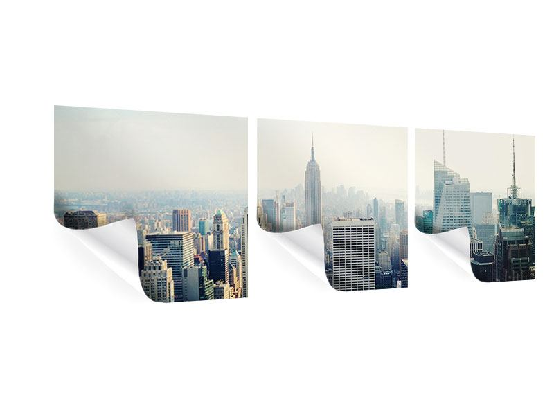 Panorama Poster 3-teilig NYC