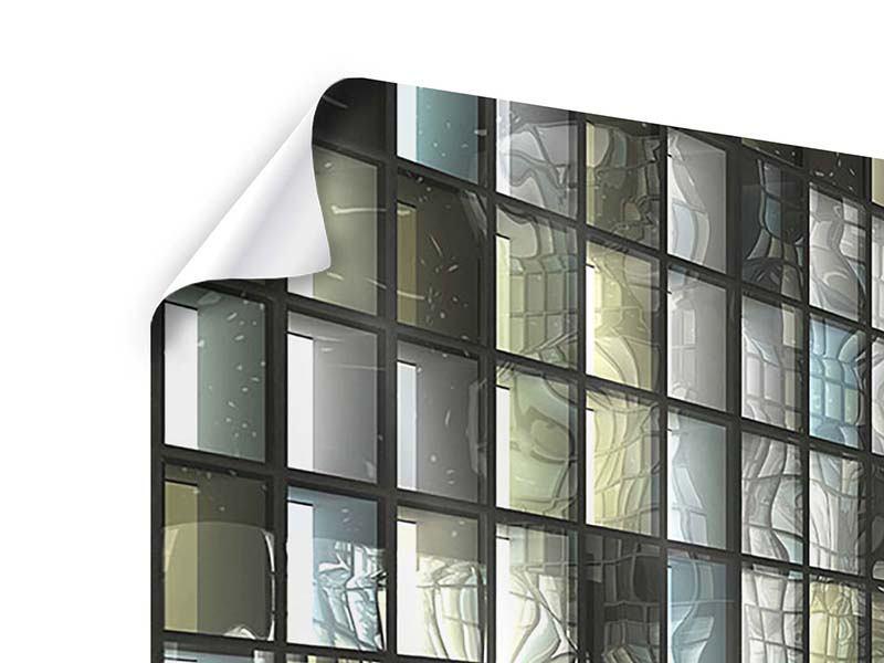 Panorama Poster 3-teilig Windows